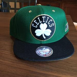Celtics Snapback Adjustable Hat